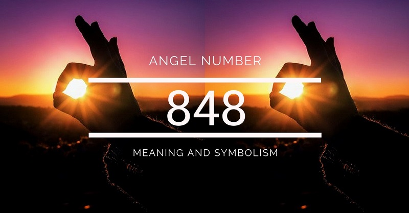 848 angel number sun signs